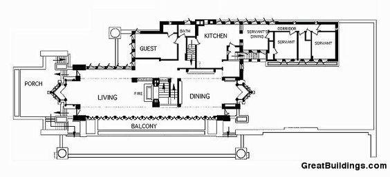Fallingwater House Frank Lloyd Wright UD Villas