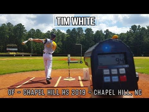 Tim White Of Baseball Recruiting Video Class Of 2019 Presented On Us Sports Net By 1 800petmeds H Basketball Uniforms Design Baseball Basketball Uniforms
