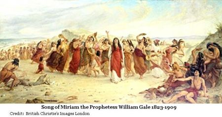 Song of Miriam the Prophetess, William Gale. - Google Search