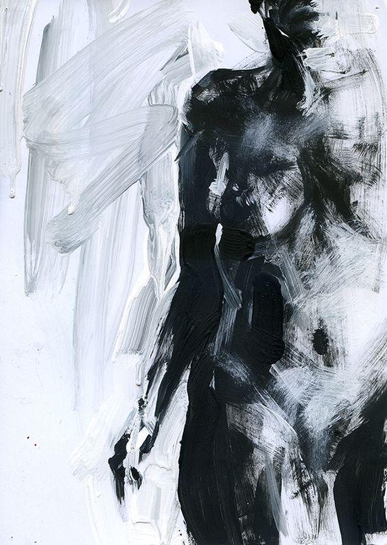 Good Dynamics by Arseny Blinov #acrylic #painting #woman #art