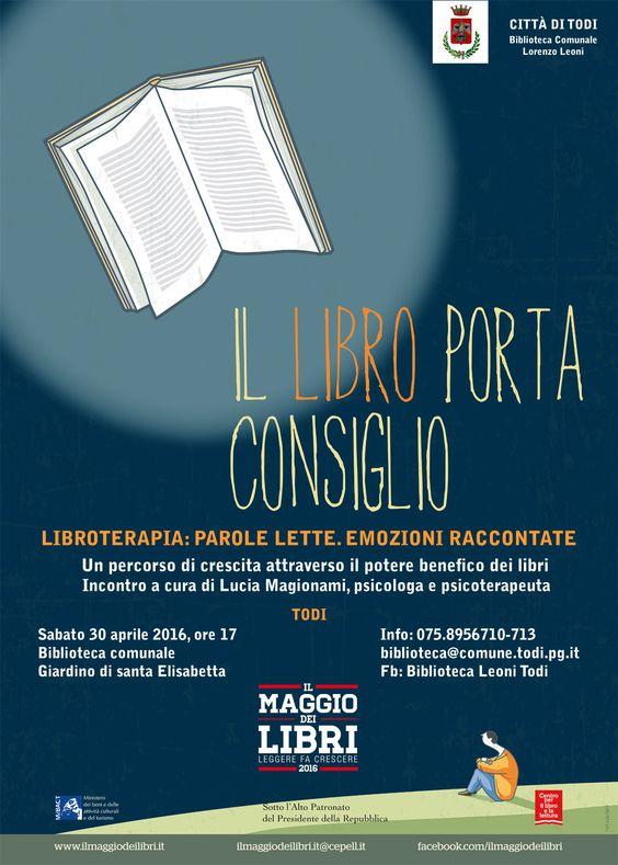 """La Biblioteca comunale di Todi aderisce per il sesto anno consecutivo a """"Il Maggio dei Libri"""", la campagna nazionale di promozione della lettura"""