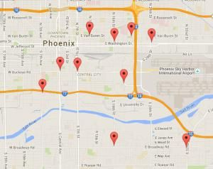 Where To Find A Gas Station Near Phoenix Sky Harbor Airport Rental