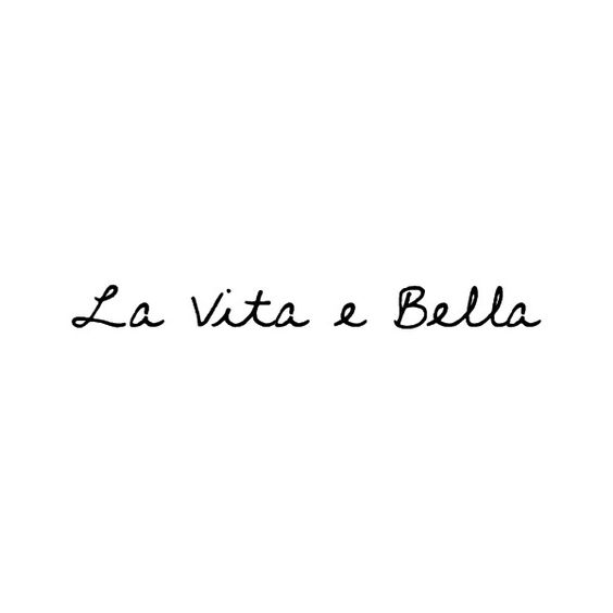 Friend Quote In French : Quot life is beautiful in italian pinteres