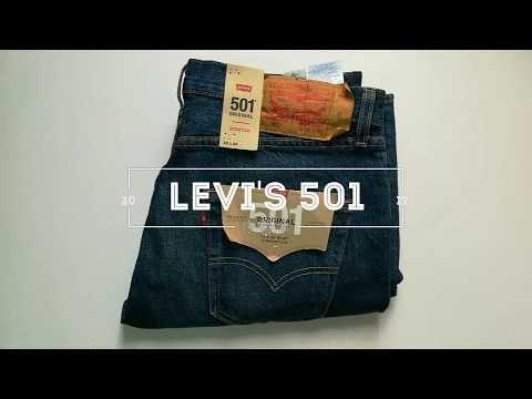 Cómo Identificar Un Levi S Original Modelo 501 Aprende A Identificarlo Youtube Levi Modelos Pantalones Levis
