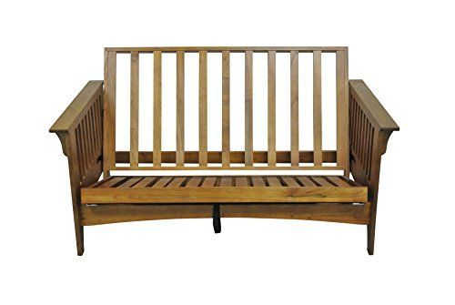 boston 54   pull out loveseat futon frame in cherry oak finish reclines into three positions two box design  three positions include  upright rec u2026 boston 54   pull out loveseat futon frame in cherry oak finish      rh   pinterest