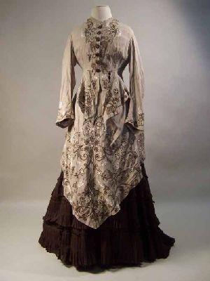 Dress, 1873-1875, Manchester City Galleries