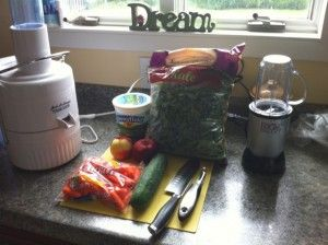 Gastroparesis-Friendly Green Juice/Smoothie