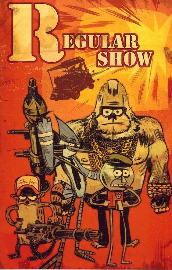 Regular Show Comic Book Covers