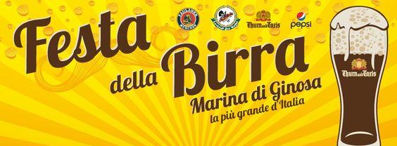 """""""FESTA DELLA BIRRA"""", A MARINA DI GINOSA LA PIÙ GRANDE D'ITALIA"""