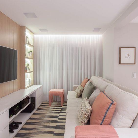 Apartamento Iluminado com Fita LED