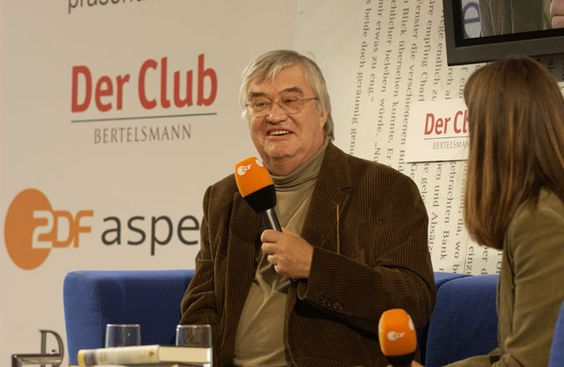 Peter Härtling auf dem Blauen Sofa