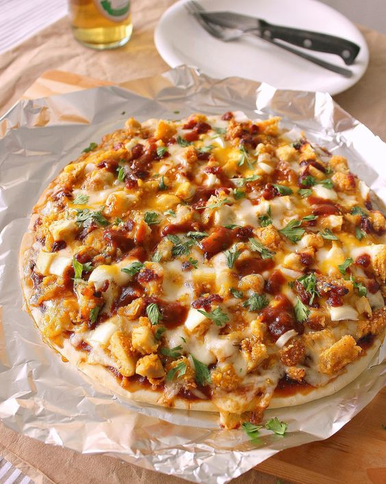 Enchilada Chicken Parmesan Pizza | FOOD: Pasta & Pizza | Pinterest ...