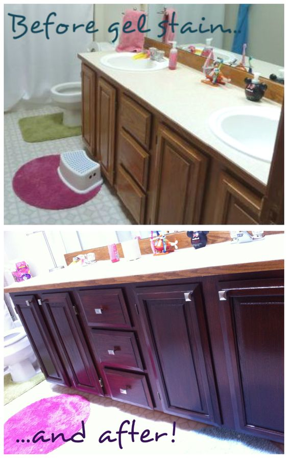 painting vs staining kitchen cabinets so pretty gel stained cabinets oak cabinets stains and kid 7371