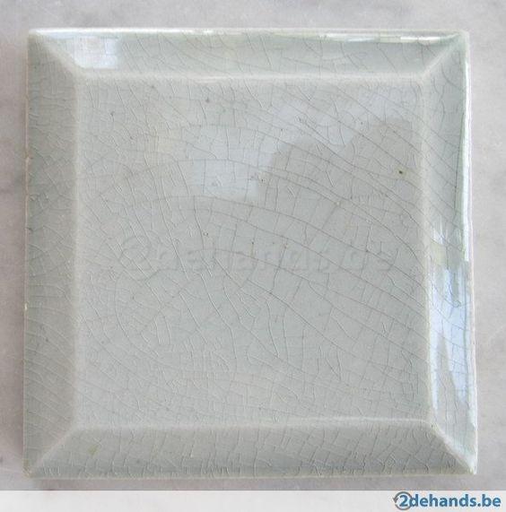 70 kleine antieke grijze metro tegels