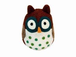 Woolbuddy Owl from Santa Barbara Design Studio #OneCoast #Owl