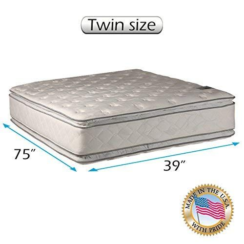 Natural Dream Twin Medium Soft Pillowtop Mattress Only Double