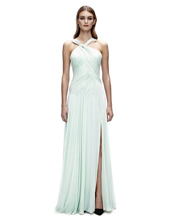 Vivienne Asymmetrical Gown