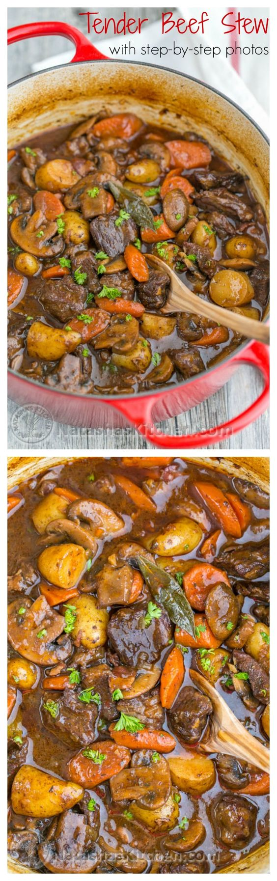 Beef Stew. Ok, yum! This beef recipe is so tender and just melts in your mouth - so good! Make this for dinner and you'll get rave reviews.
