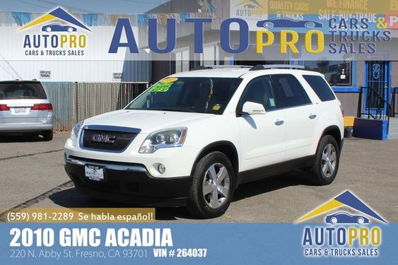 2010 Gmc Acacia Awd Slt 1 4dr Suv Equipped With A 3 6l V6 This