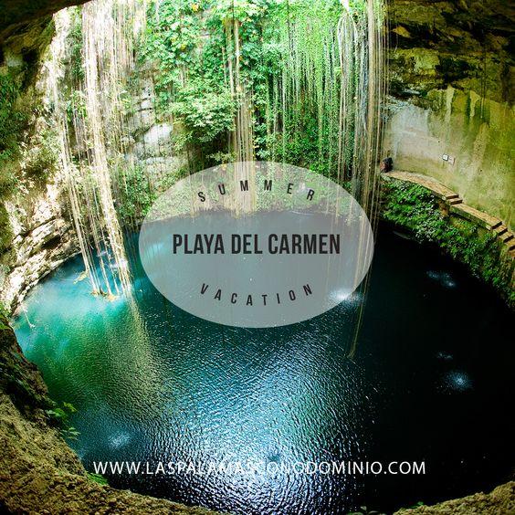 Playa del Carmen es el corazón de la Riviera Maya, una cadena de playas y lugares de interés a lo largo de la costa caribeña de México.  Los visitantes pueden nadar y bucear en cenotes piscinas de agua dulce, o de las cálidas aguas azul