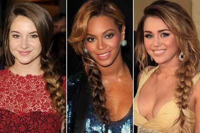 Glam Celebrity Hairstyles 2012 for Women