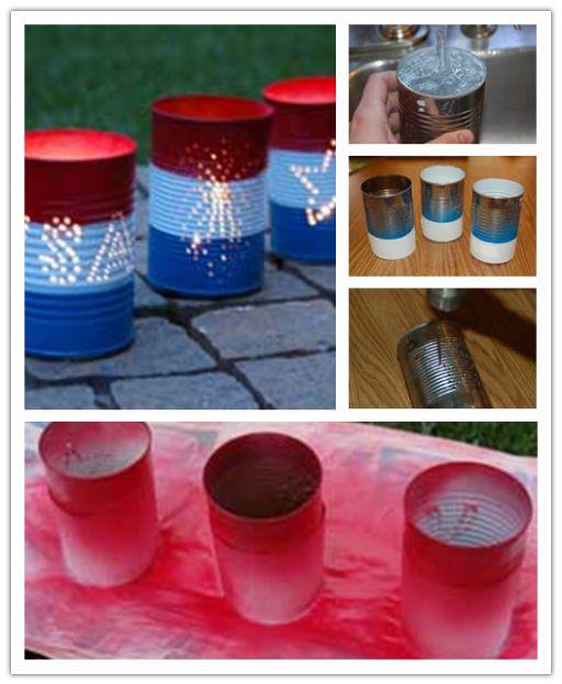 DIY Tin Can Luminaries Craft Tutorial   DIY Tag