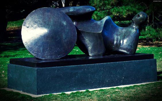 Henry Moore Garden Sculpture