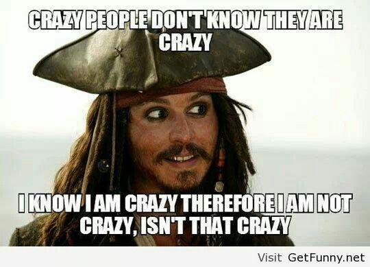 I'm not crazy!!! Lmbo