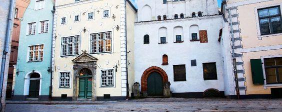 Le centre médieval de Riga