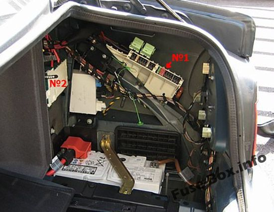 Bmw Fuse Box Location - wiring diagram on the net A Bmw E Fuse Box Location on