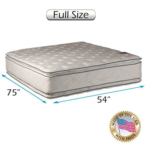 Dream Solutions Usa Brand Double Sided Pillowtop Gentle Plush