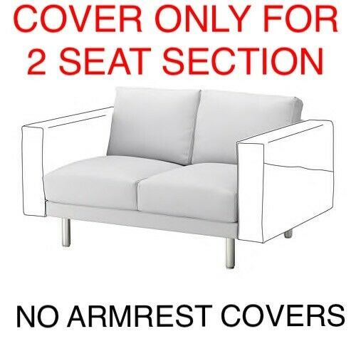 Ikea Norsborg Cover For 2 Seat Section Sofa Couch Slipcover Cover Finnsta White Ikea Sofa Ideas Of Ikea Sofa Sofa Ikea Ikeasofa Ikea Norsborg With Images Ikea Sofa