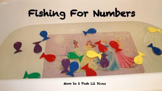 Mom to 2 Posh Lil Divas: Pre-K & K Seuss Math w/One Fish, Two Fish, Red Fish, Blue Fish