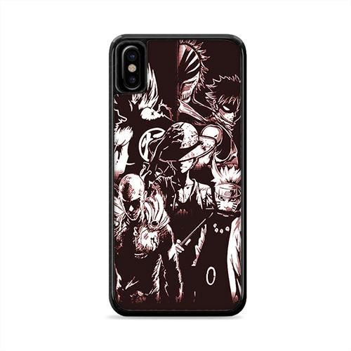 Cool Anime Collage Iphone X Case Caserisa Collage Iphone