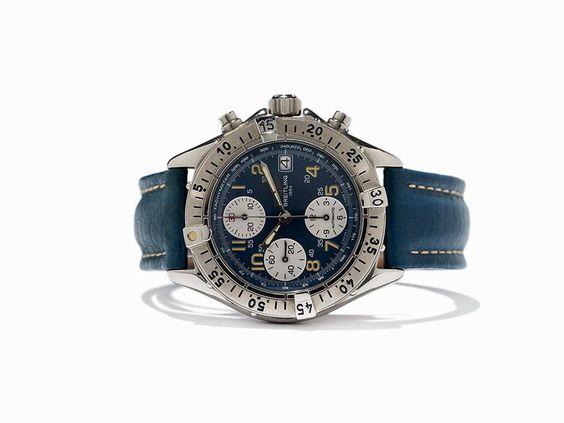 Breitling Chronograph, Ref. A 13035.1, Schweiz, um 1995 Breitling Chronograph, Ref. A 13035.1Schweiz