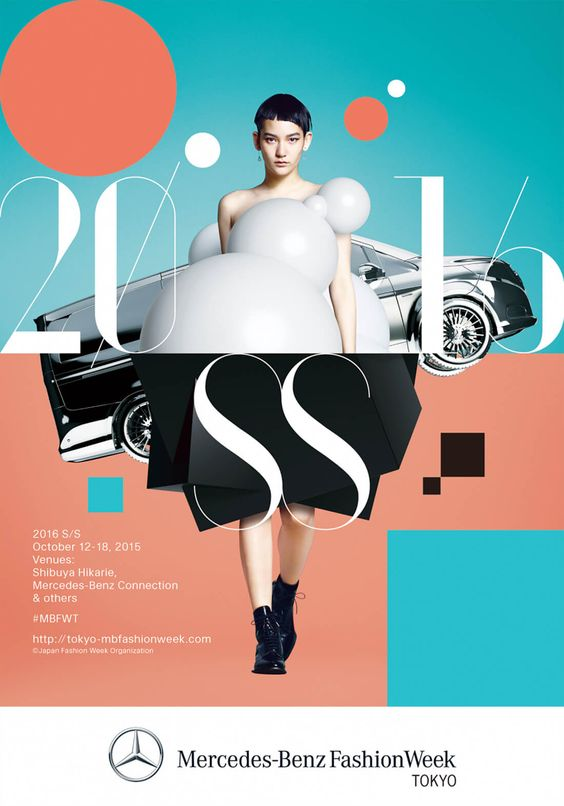 Mercedes-Benz Fashion Week TOKYO 2016 S/S – Grids : Design Inspiration and Showcase