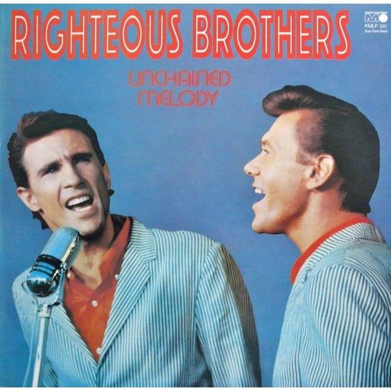 The Righteous Brothers - Unchained Melody in 1965. I SAW THESE GUYS AFTER I GOT OUT OF THE ARMY ...