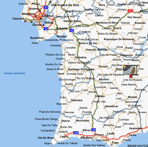 A Map Of Sintra Cascais Natural Park Portugal Sintra - Portugal map google