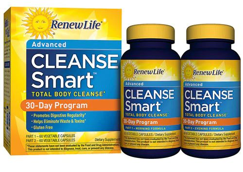 Renew Life CleanseSMART™ Total-Body Cleanse 30-Day Program -- 1 Kit - Vitacost