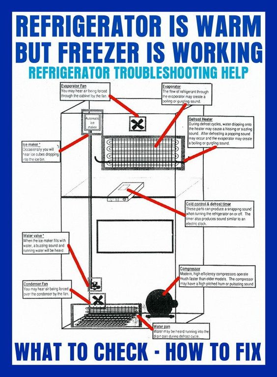 My Freezer Is Cold But The Refrigerator Is Warm What To Check To