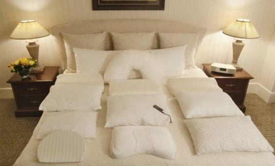 Carta de almohadas en los hoteles, un gran servicio que ofrece valor añadido a los clientes