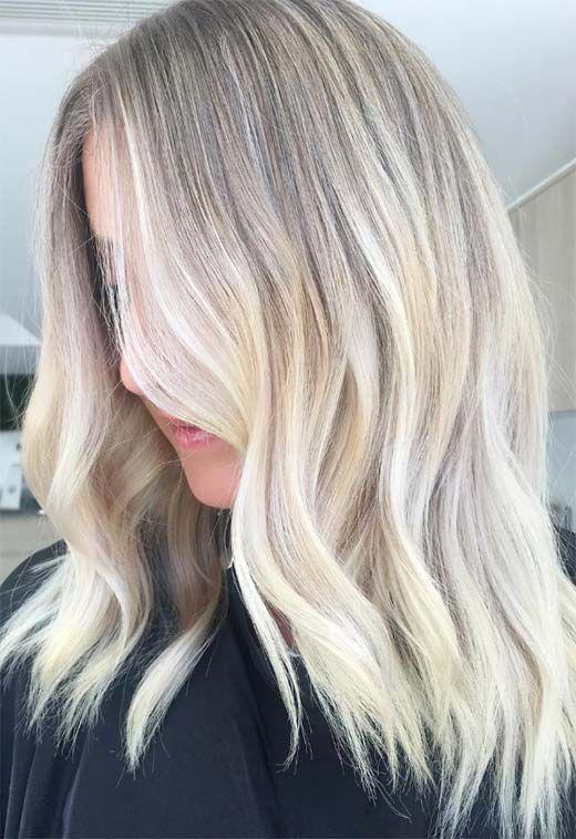 Summer Hair Colors Ideas Trends Sapphire Blonde Hair Color Summer Hair Color Summer Hairstyles Blonde Hair Color