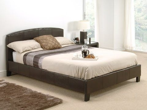Snuggle Beds - Natalie Brown Bed Frame http://www.mattressman.co.uk/leather-beds/snuggle-beds/natalie-in-brown-single-brown-leather-bed.aspx