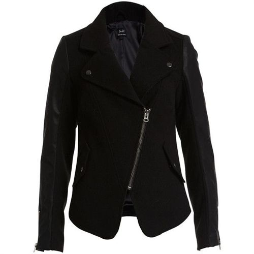 Bardot Seamed Biker Jacket