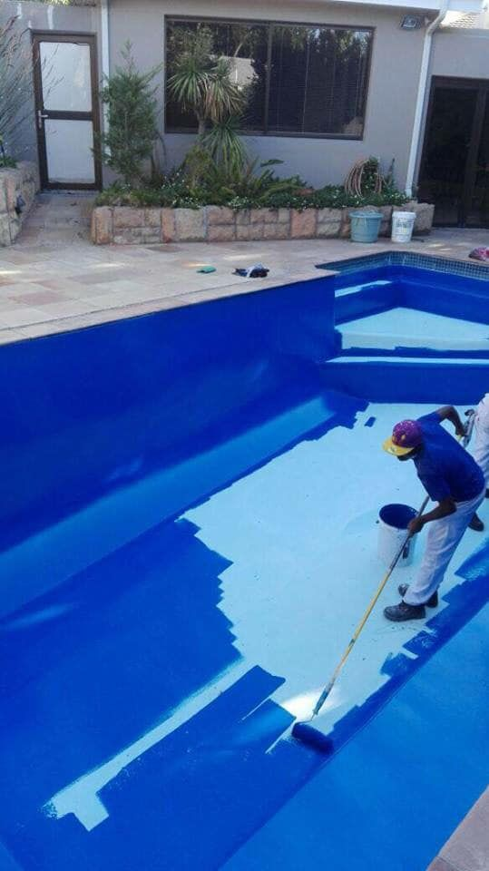 Chlorinated Rubber Swimming Pool Paint Midas Paints Tygervalley