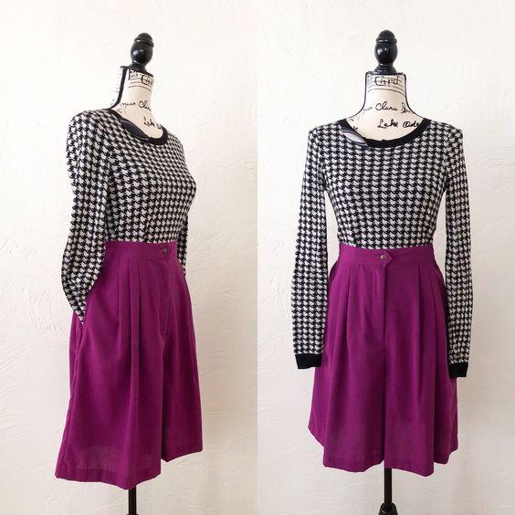 culottes fashion trend 90s