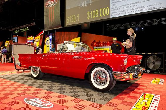 T-Bird! Love the red!