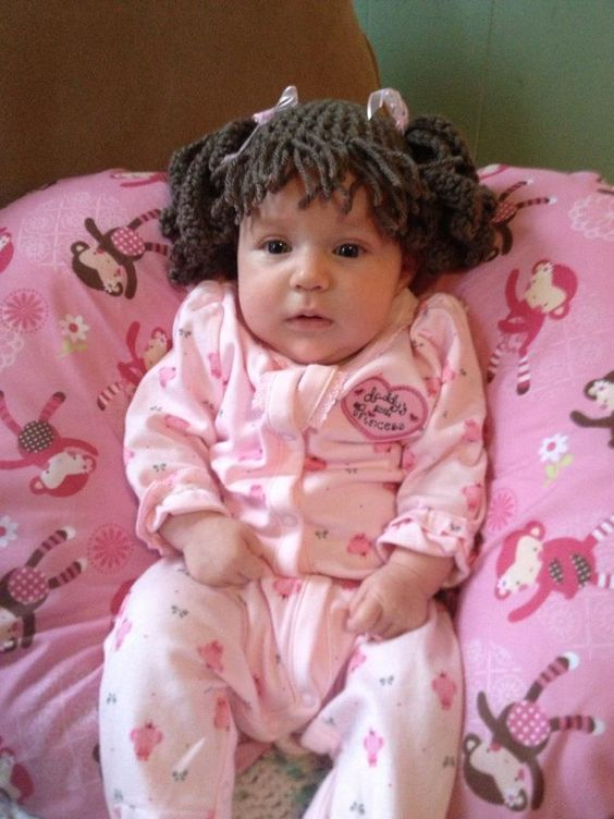 Isabella's Cabbage Patch Hair