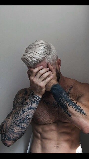 Hair style from barber hairstyls for men pinterest for Tattoo hair line
