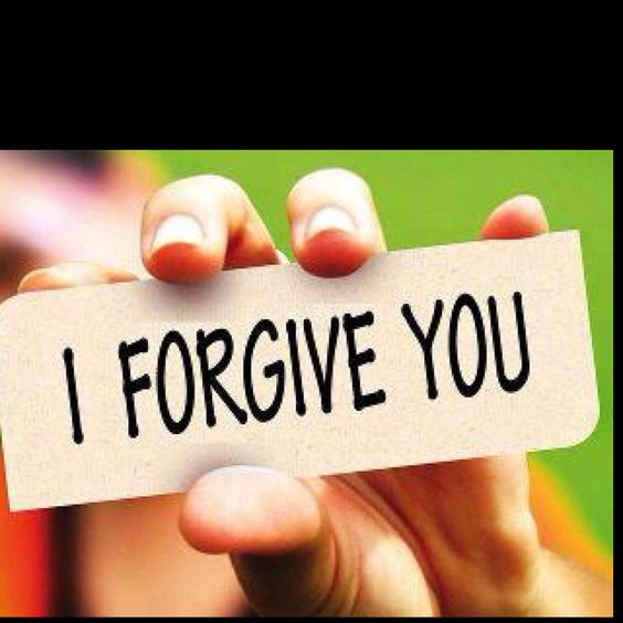 I forgive you....for the things you have done have only hurt yourself.  May you find the joy in your life you need so you can stop being in so much pain.